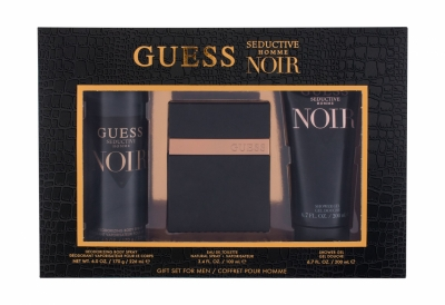 Set Seductive Homme Noir - GUESS - Apa de toaleta