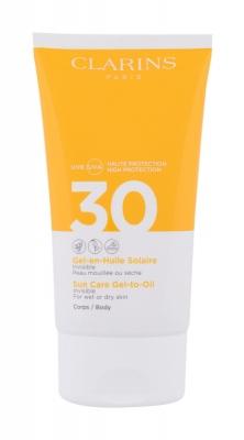 Sun Care Gel-to-Oil SPF30 - Clarins - Protectie solara