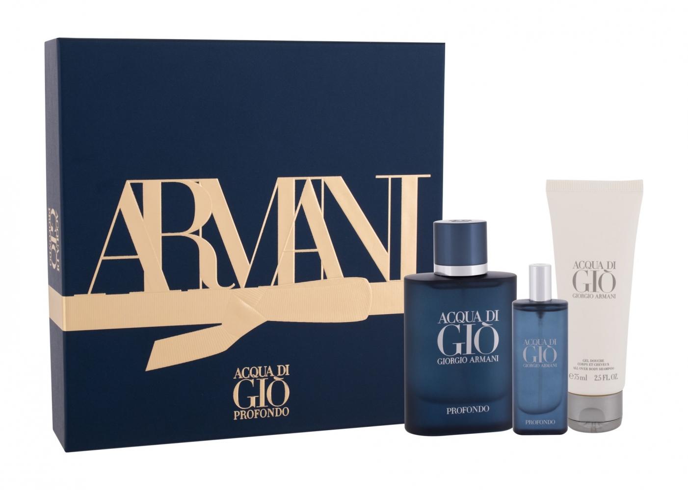 Mergi la Set Acqua di Gio Profondo - Giorgio Armani - Apa de parfum EDP