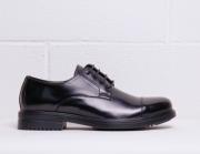 Pantofi siret Duca Di Morrone LOUIS Negru