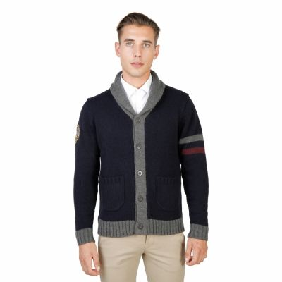 Pulovere Oxford University OXFORD_TRICOT-CARDIGAN Albastru