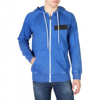 Bluze sport Diesel S-GIM_00SSNI Albastru