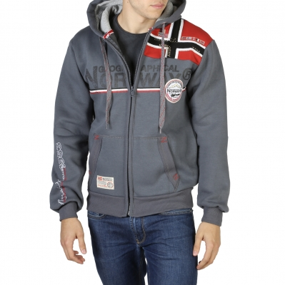 Bluze sport Geographical Norway Faponie100BS_man Gri