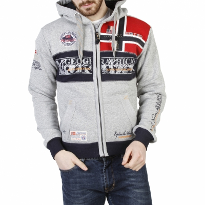 Bluze sport Geographical Norway Flyer_man Gri