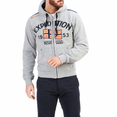 Bluze sport Geographical Norway Foccupe_man Gri