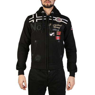 Bluze sport Geographical Norway Garadock_man Negru