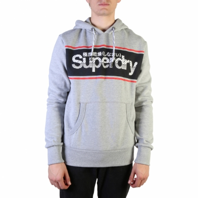 Bluze sport Superdry M2000033A Gri