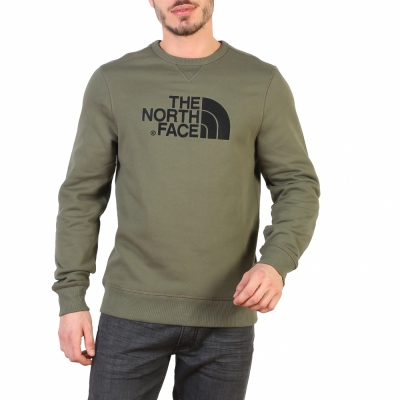 Bluze sport The North Face T92ZWR Verde