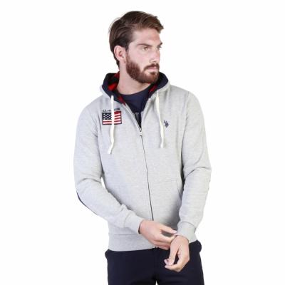 Bluze sport U.s. Polo 43482_47130 Gri