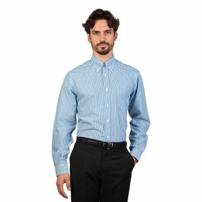 Camasi Brooks Brothers 100047584 Albastru
