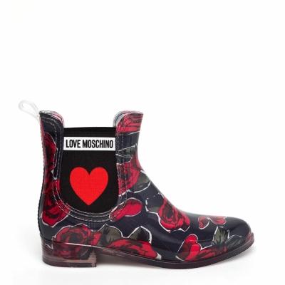 Ghete scurte Love Moschino JA21013G16IM Negru