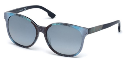 Ochelari de soare Diesel DL0121_58 Albastru