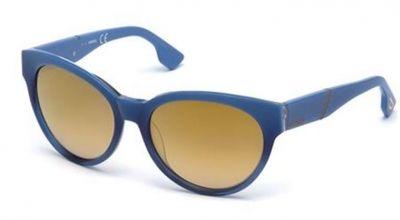 Ochelari de soare Diesel DL0124 Albastru
