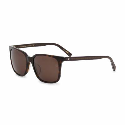 Ochelari de soare Ermenegildo Zegna EZ0019D Maro