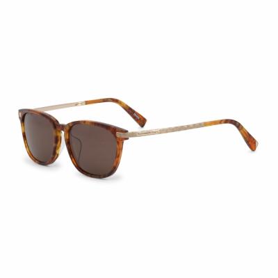 Ochelari de soare Ermenegildo Zegna EZ0039F Maro