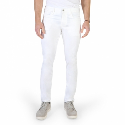 Pantaloni Armani Jeans 3Y6J06_6NEDZ Alb