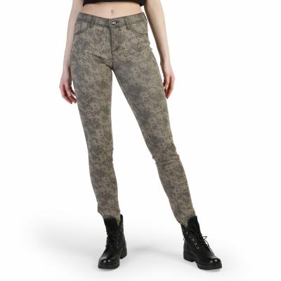 Pantaloni Desigual 49P2603 Maro