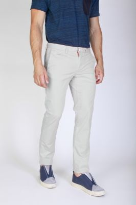 Pantaloni Jaggy J1683T812-1M Alb