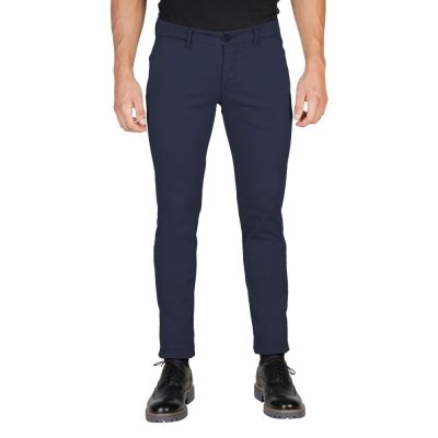Pantaloni Oxford University OXFORD_PANT-REGULAR Albastru