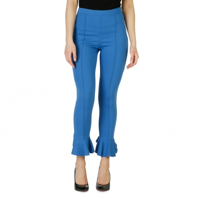 Pantaloni Pinko 1G1335_6200 Albastru
