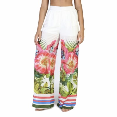 Pantaloni Rinascimento 15811_002 Alb