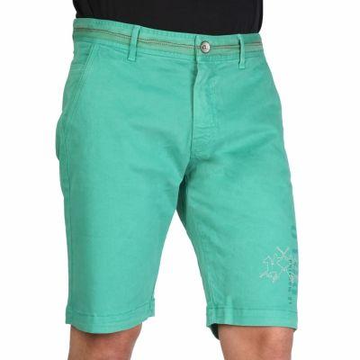 Pantaloni scurti La Martina DMB001TW31 Verde