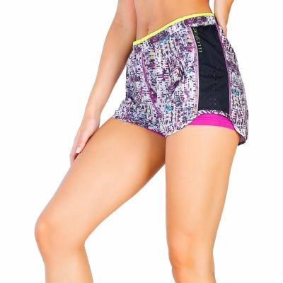 Pantaloni scurti Elle Sport ES2469 Alb