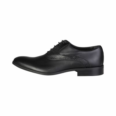 Pantofi siret Made In Italia JOACHIM Negru