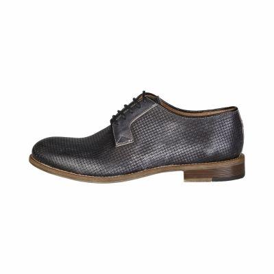 Pantofi siret Made In Italia LEANDRO Gri