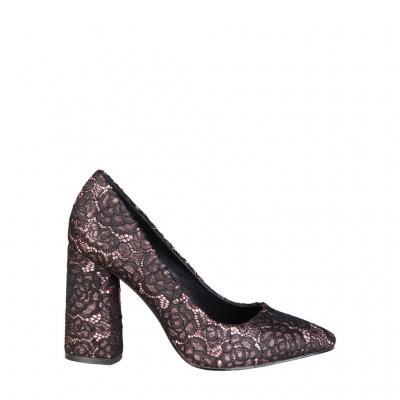 Pantofi cu toc Fontana 2.0 ALLURE Negru