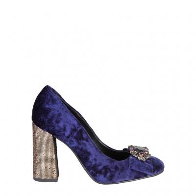 Pantofi cu toc Fontana 2.0 CHRIS Albastru
