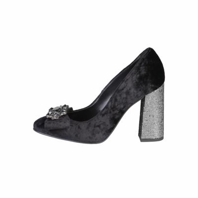 Pantofi cu toc Fontana 2.0 CHRIS Negru