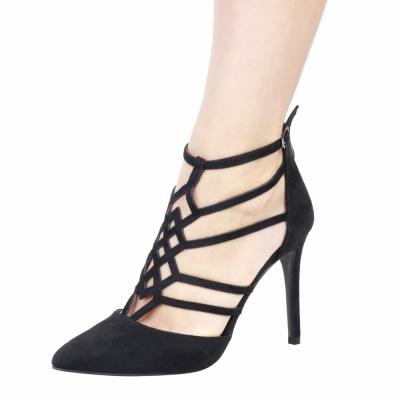 Pantofi cu toc Fontana 2.0 STELLA Negru