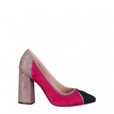 Pantofi cu toc Fontana 2.0 VALERIA Albastru