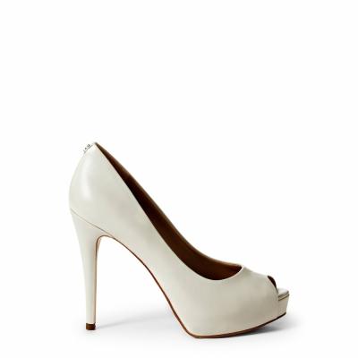 Pantofi cu toc Guess FLH124LEA07 Alb