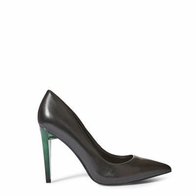 Pantofi cu toc Guess FLOBA4LEA08 Negru