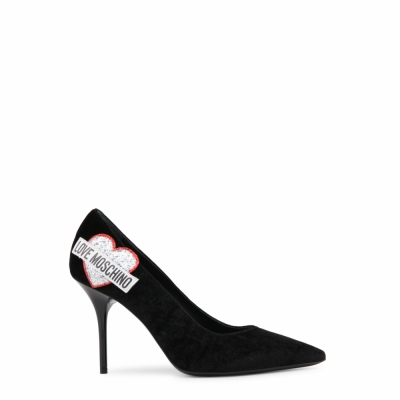 Pantofi cu toc Love Moschino JA10039C16IFX Negru