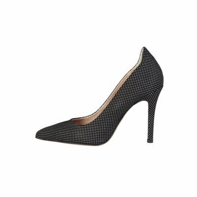 Pantofi cu toc Pierre Cardin LUCILE Negru