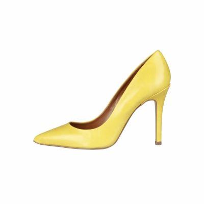 Pantofi cu toc Pierre Cardin MATHILDE Galben