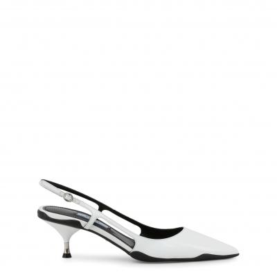 Pantofi cu toc Prada 1I261L Alb