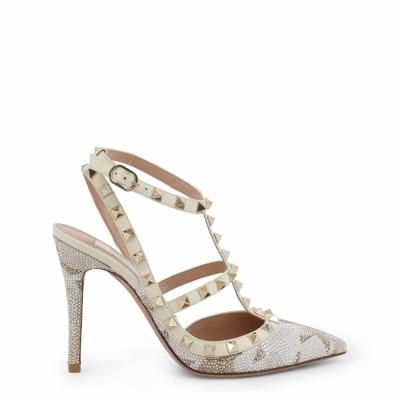 Pantofi cu toc Valentino LW2S0393CTR Alb