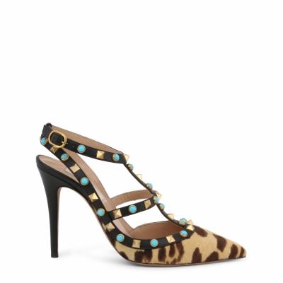 Pantofi cu toc Valentino LW2S0393CV8 Maro