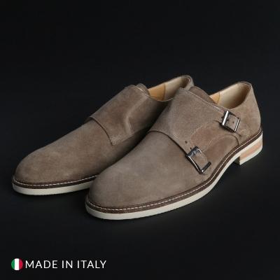Pantofi Madrid 600_CAMOSCIO Maro