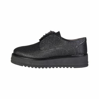 Pantofi siret Ana Lublin ANNETTE Negru
