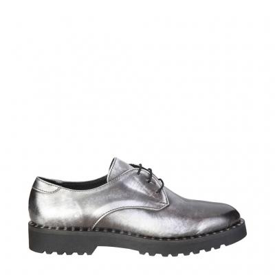 Pantofi siret Ana Lublin CHRISTEL Gri