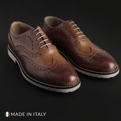 Pantofi siret Duca Di Morrone 4_VITELLO Maro