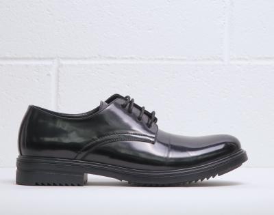 Pantofi siret Duca Di Morrone ALBERT Negru