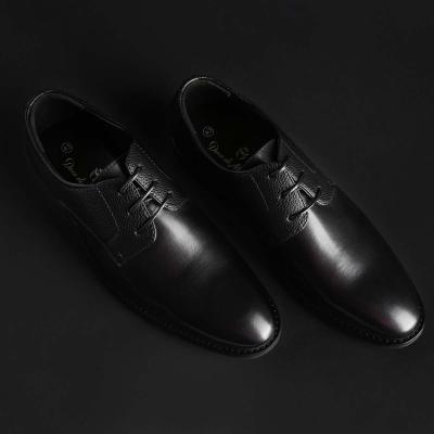 Pantofi siret Duca Di Morrone BART Negru