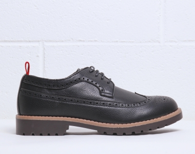 Pantofi siret Duca Di Morrone BRADFORD Negru