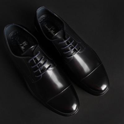 Pantofi siret Duca Di Morrone LOUIS Albastru